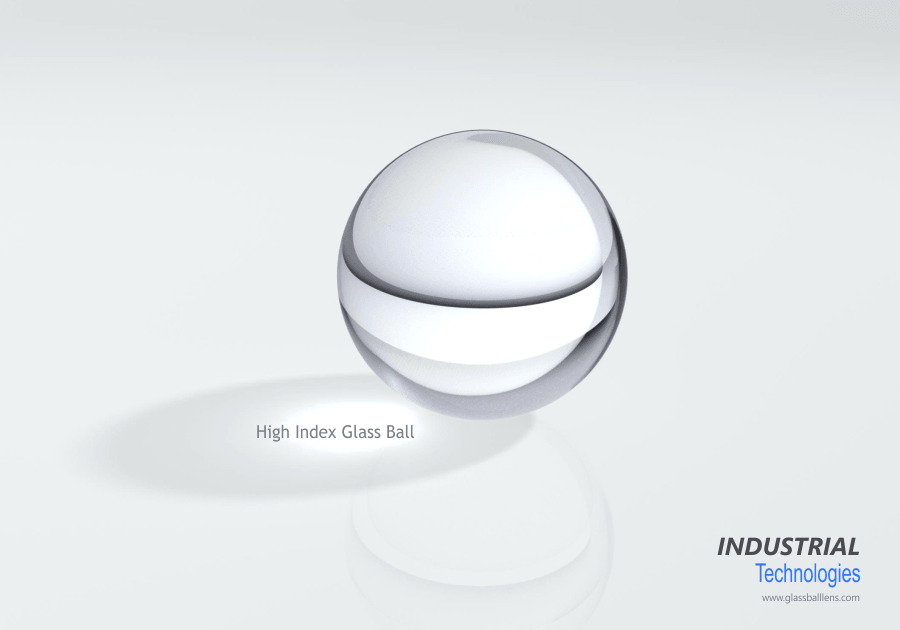 High index glass ball lens company
